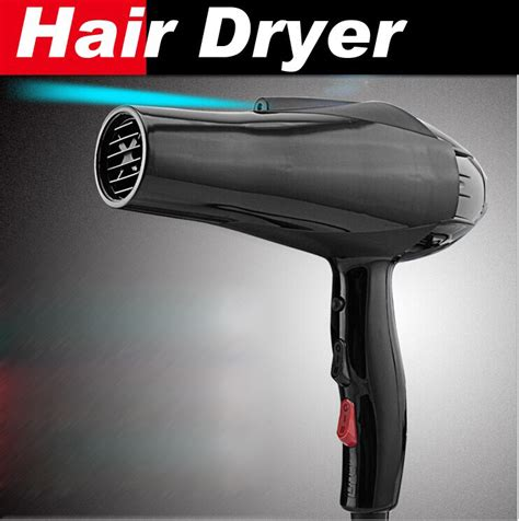 Hair Dryer Blowing Cold styling tools hair dryer black professional dryer