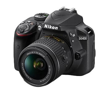 nikon d3400 dslr camera announced: 24.2mp, snapbridge and