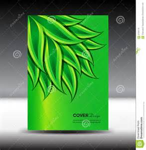 green cover design and cover annual report vector