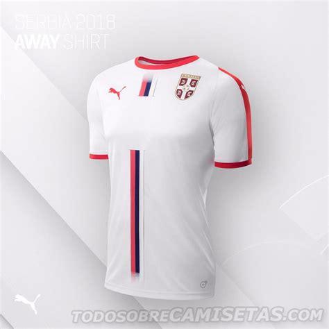 serbia 2018 world cup away kit todo sobre camisetas