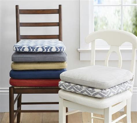 seat pads dining room chairs pb classic dining chair cushion pottery barn