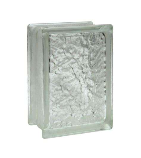pittsburgh corning glass pittsburgh corning corp 110466 icescapes glass block 6x8x4