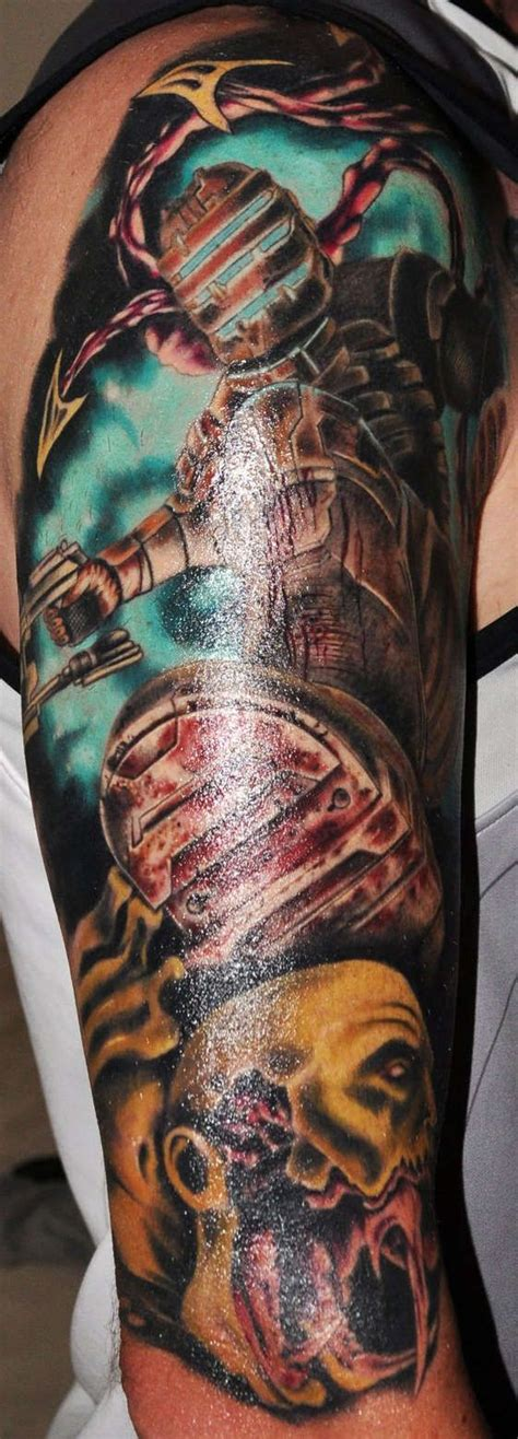 dead space tattoo isaac clarke dead space isaacclarke deadspace
