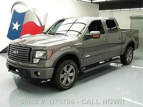 2012 ford f 150 fx4 ecoboost white crew cab 20 inch wheels f 150 photo buy used 2012 ford f 150 fx4 crew ecoboost 4x4 rear cam 20