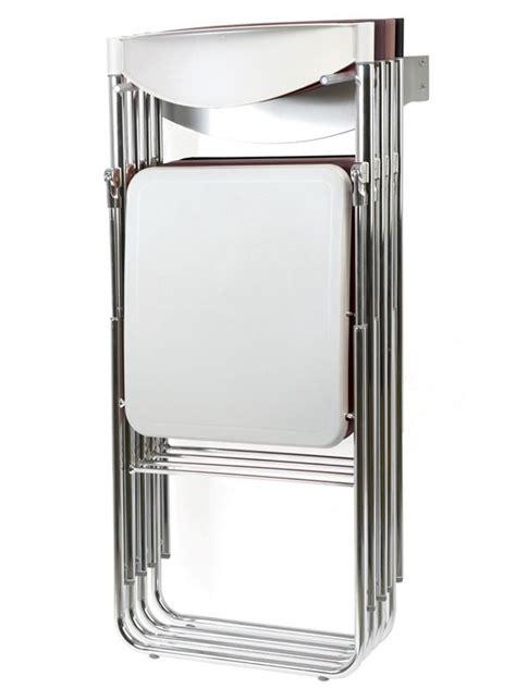 sedie pieghevoli plastica nobys sedia pieghevole moderna in metallo e