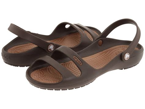 crocs womens cleo ii convertible sling backs