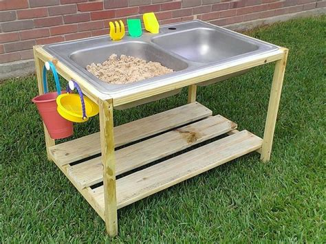 diy sand and water table to and ideas