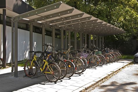 tettoie per biciclette coperture e pensiline per biciclette