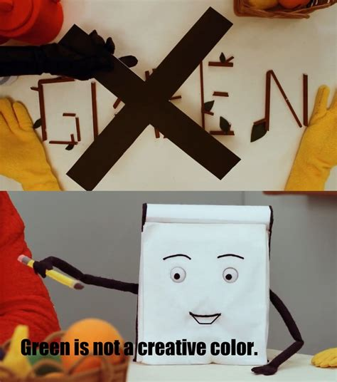 why is green not a creative color 37 best don t hug me i m scared images on