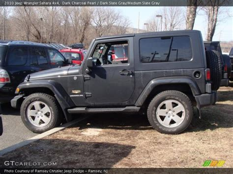charcoal jeep wrangler 2010 jeep wrangler 4x4 in charcoal pearl photo