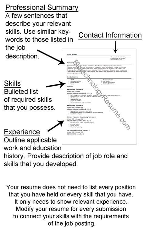 Example Resume: Walk Me Through Your Resume Example