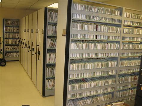 condensed shelving