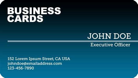 best business card design ideas professional business card