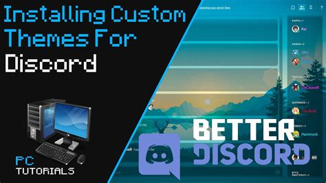 discord custom themes how to install custom themes on discord youtube