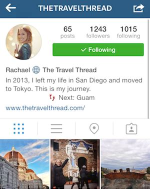 bio for instagram travel how to get 1 000 instagram followers in 10 days