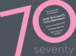 70 birthday invitation template 17 best images about 70th birthday on copper