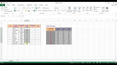 tutorial menggunakan vlookup pada excel video tutorial cara menggunakan fungsi vlookup if di ms