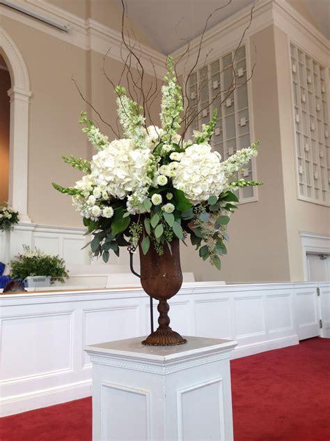 Church Arrangement   Florals   Wedding Decorati   Wedding