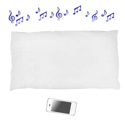 bluetooth pillow speaker imusic bluetooth pillow mobilefun