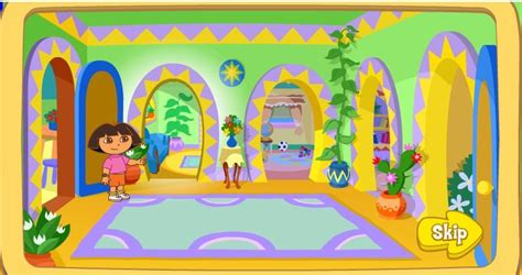 dora house welcome to dora s house game