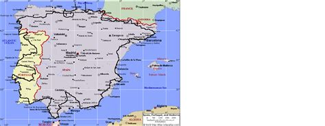 spain and portugal map and that was portugal roamingwally