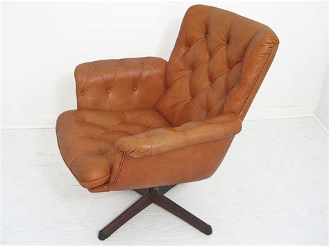 swedish leather recliners mid century scandinavian tufted leather recliner mix vintage