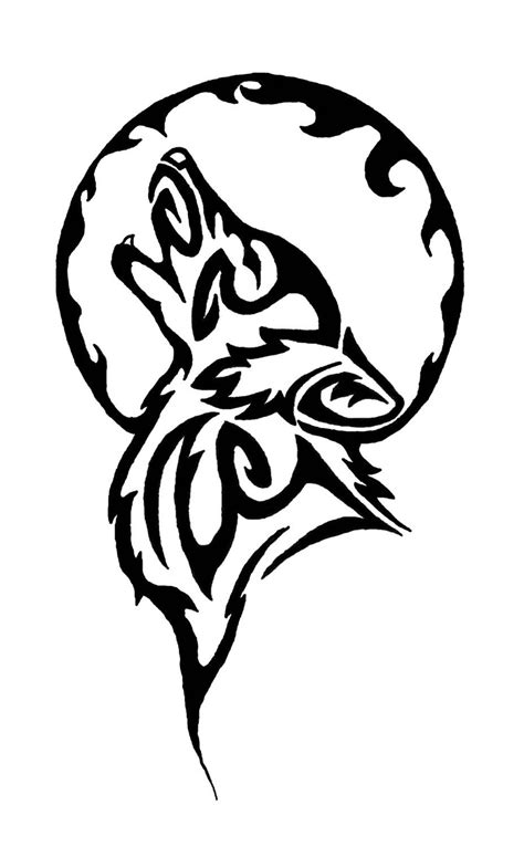 60 Tribal Wolf Tattoos Designs And Ideas Black Wolf Designs