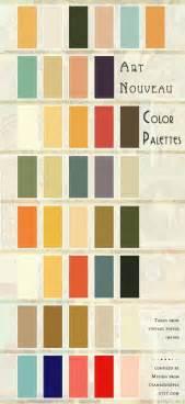 art deco color palette keroiam art nouveau color palette a good reference