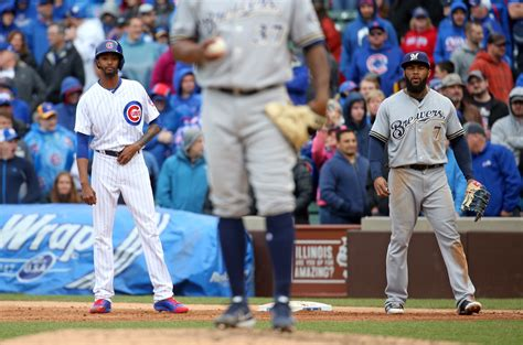 cubs bench cubs turn to carl edwards jr as pinch runner with bench