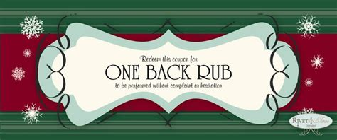 stocking stuffers   rub coupons coming   rivet  twine etsy page