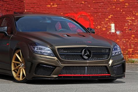 bagged mercedes cls image gallery stanced benz