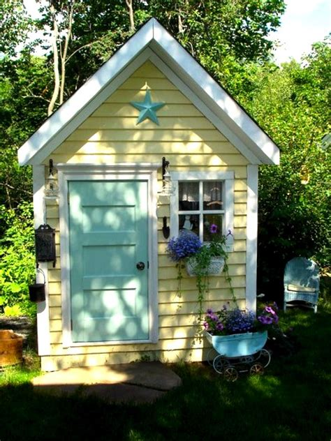 Playhouse Windows And Doors Ideas Compact Tidy Outdoor Playhouses Kidspace Stuff