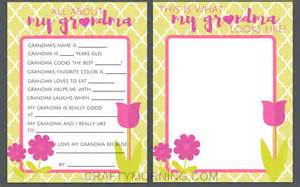 all about mom amp grandma free mother s day printables