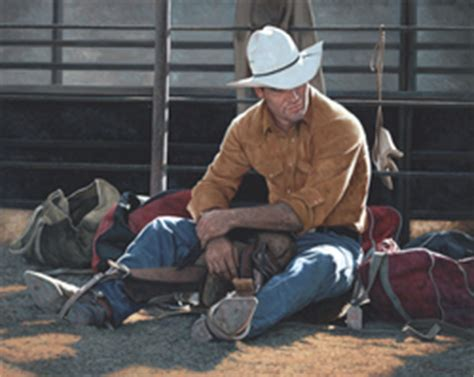 freeman boats hat ranching rodeo and roughstock master artist kenneth m