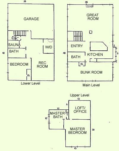 ski house plans ski home floor plans house design plans