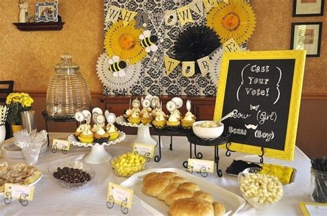 Bee Baby Shower Ideas by What Will It Bee Baby Shower Your Homebased