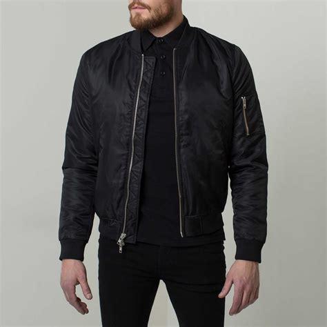 Jaket Inv Bomber Simple Black mens bomber jacket designer jackets
