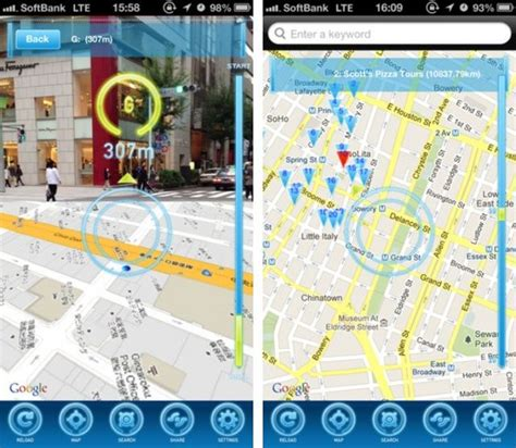 app layout map clever iphone app brings augmented reality to apple and