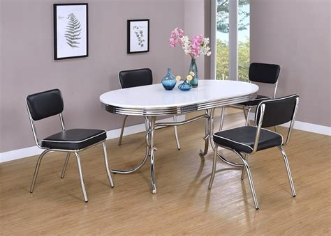 retro dining room table retro collection dining table 2065 tables jb s furniture