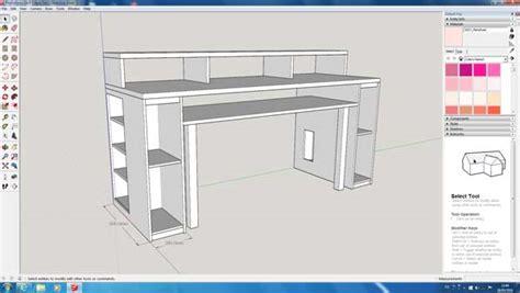 diy video editing desk music production desk plans best home design 2018