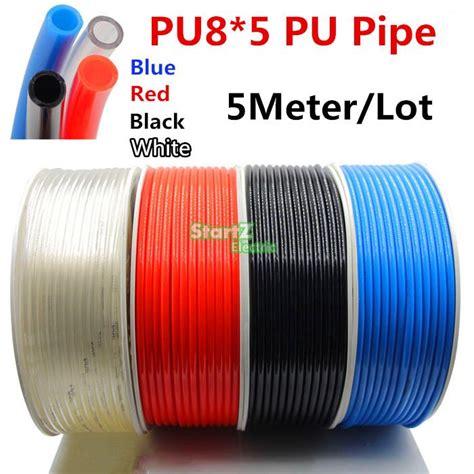 Selang Pu 10x6 5 Mm pu8 5 5m lot od 8mn id 5mm pu pipe pneumatic hose for air