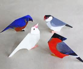 Paper Birds Craft - paper craft birds ideas origami and