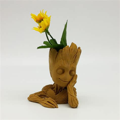 Pot Plant Baby baby groot flower pot gardens of the galaxy 2 chacopin
