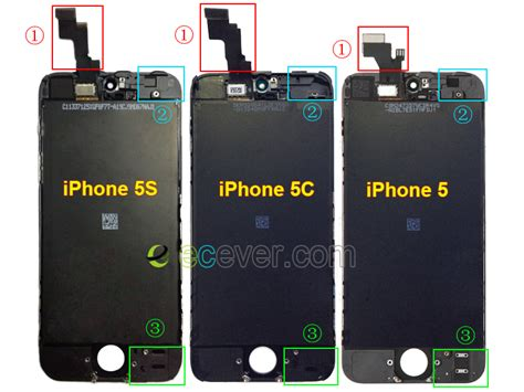 Connector Conector Konektor Charger Iphone 5s difference between iphone 5 iphone 5c and iphone 5s lcd