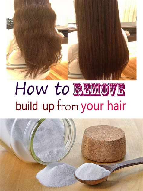 How To Remove Hair From by How To Remove Build Up From Your Hair Homemadelifeproject