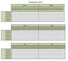 Kalender 2018 Vorlage Excel Urlaubsplaner F 252 R 2018 Excel Vorlagen F 252 R Jeden Zweck