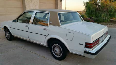 1985 buick skylark limited sedan 4 door 2 8l