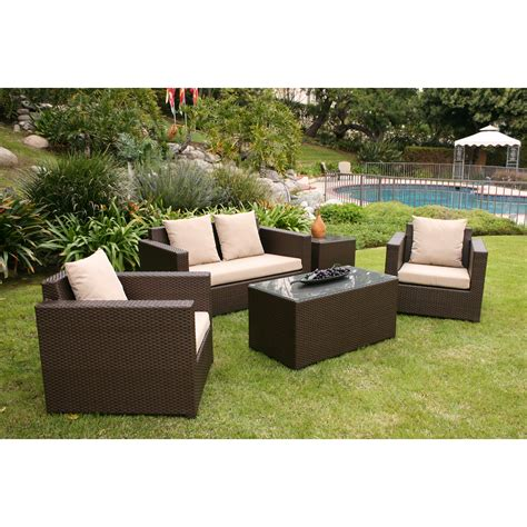 Warehouse Patio Furniture Aic Garden Casual Metro 5 Seating With Cushions Reviews Wayfair