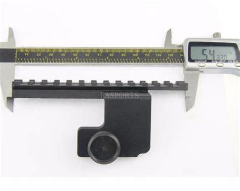 aim sports ruger mini 14 side mount aim sports ruger mini 14 side scope mount mrb001 same