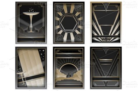 deco templates design your wedding invitations deco gatsby